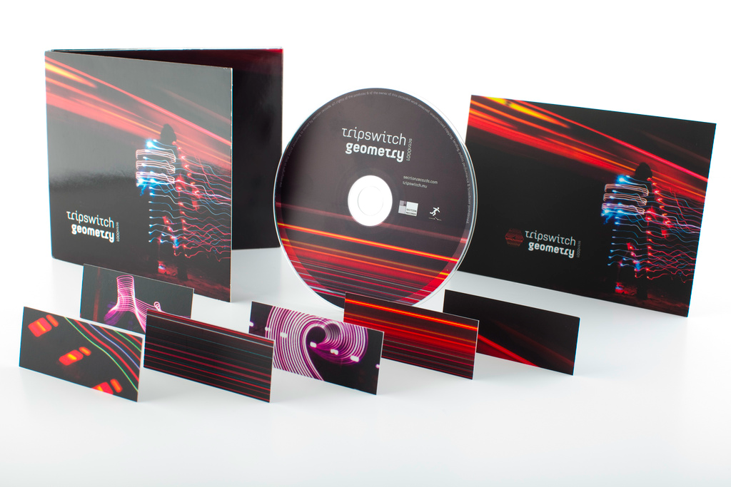 Tripswitch - Geometry CD and marketing