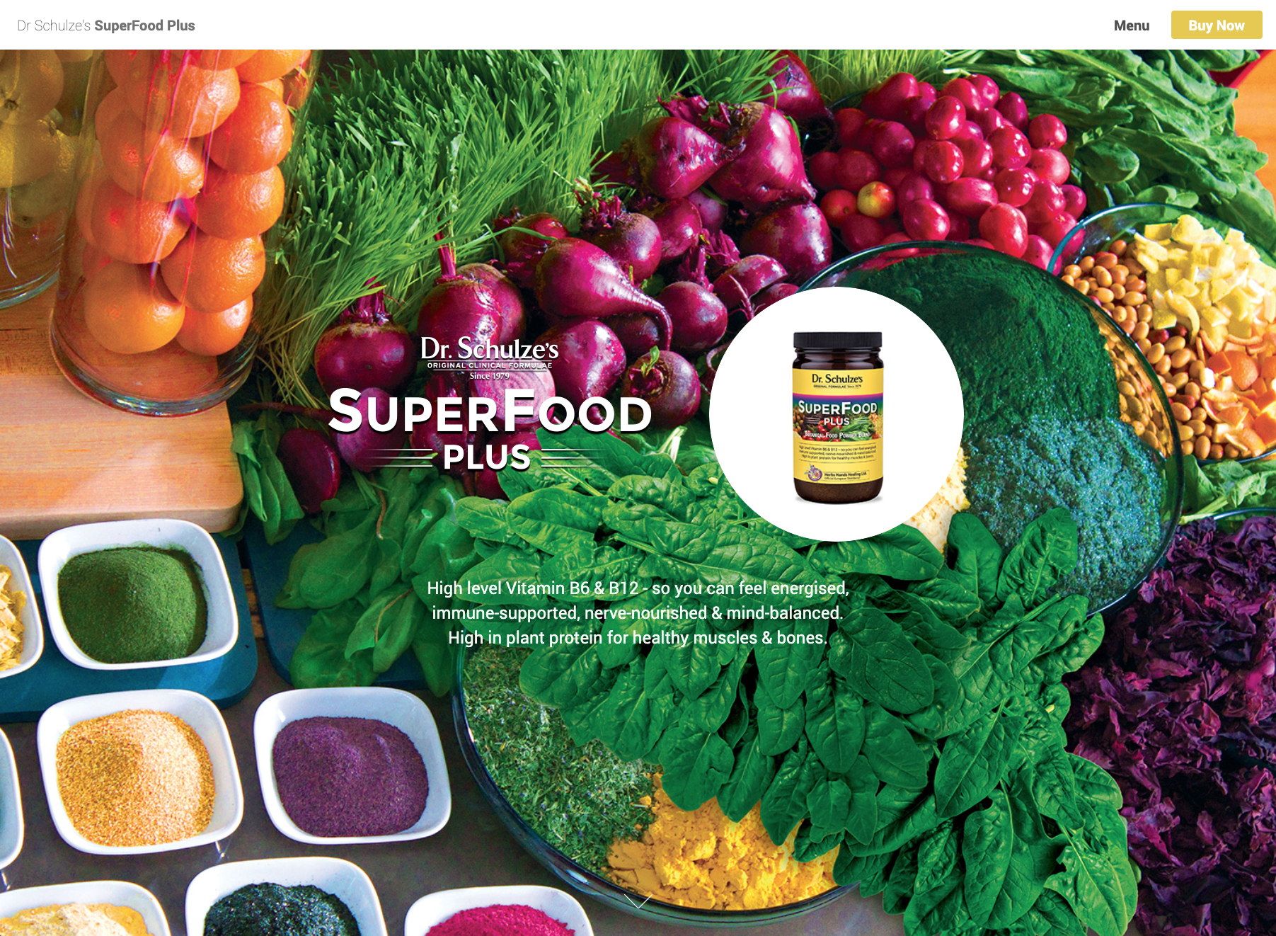 Superfood Plus Website