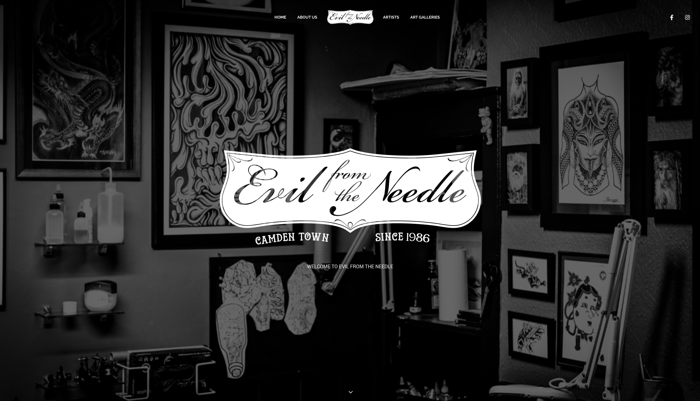 Evil From The Needle website